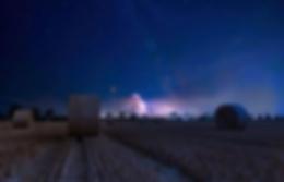 Полночь на злаковом поле