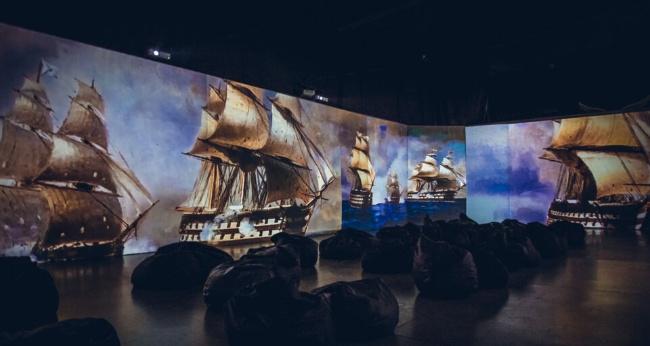 Выставка «Айвазовский. Кандинский. Климт. Ван Гог. Ожившие полотна»
