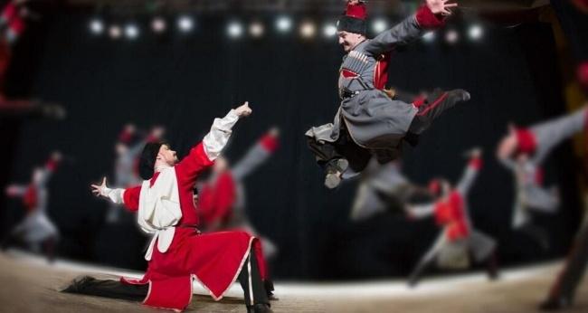 Балет Кубанского казачьего хора и «Нальмэс»