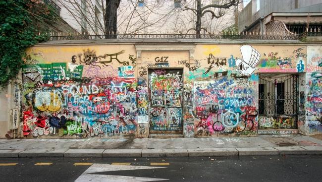 Бэнкси представил новую серию граффити