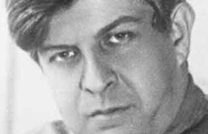 Музыкально-поэтический моноспектакль «Эдуард Багрицкий. Нас водила молодость!»