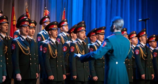 Концерт Академического ансамбля песни и пляски Российской Армии имени А.В. Александрова