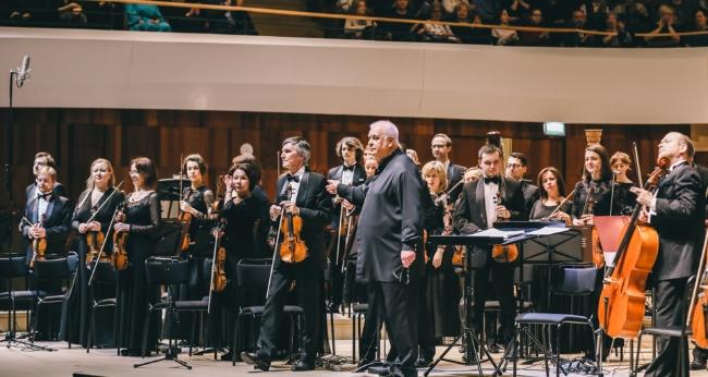 Концерт «Малер. Симфония №8. ГАСК России, дирижер – В. Полянский»