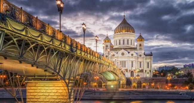 Экскурсия «Огни ночной Москвы»