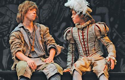 Спектакль «Принц и нищий»