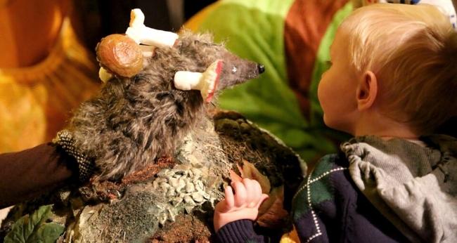 Детский спектакль «Театр на ладошке. Осень»