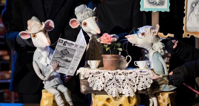 Спектакль «Все мыши любят сыр»